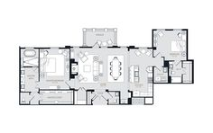 PH3 - 2 bedroom floorplan layout with 2.5 baths and 2028 square feet.