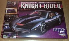 This is the 1/25 Scale Knight Rider's K.I.T.T. 1982 Pontiac Firebird Plastic Model Kit by MPC. Suitable for Ages 10 & Older. FEATURES: Highly detailed plastic pieces molded in black Accurate details t