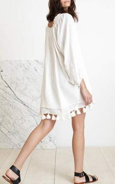 Tewa Dress by Apiece Apart for Preorder on Moda Operandi