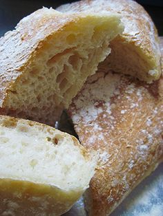 Ciabatta Bread ..... two ways .... traditional recipe and ..... a quick and easy recipe.