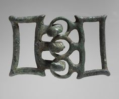 7th century BC Etruscan Buckle