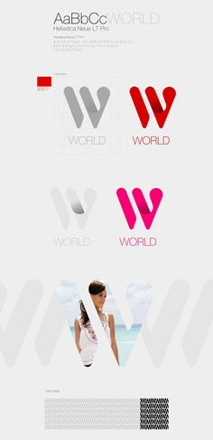 W-WORLD Corporate & Brand Identity by mustafa kural, via Behance