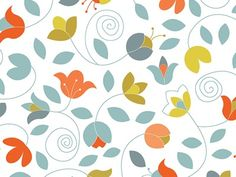 Dribbble - Lindsay Pattern by Steph Devino