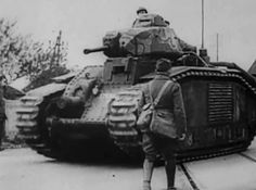 Char B1, Among the most powerfully armed and armored tanks of its day, the type was very effective in direct confrontations with German armor in 1940 during the Battle of France, but slow speed and high fuel consumption made it ill-adapted to the war of movement then being fought. After the defeat of France captured Char B1  would be used by Germany, with some rebuilt as flamethrowers or mechanized artillery.