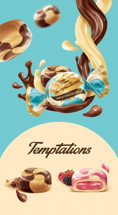 Arcor Butter Toffees Candy Temptations Advertising Campaign