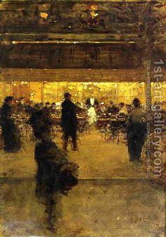 Luigi Loir:The Night Cafe