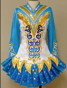 Irish Dance Solo Dress Costume by Prime  Dress Designs