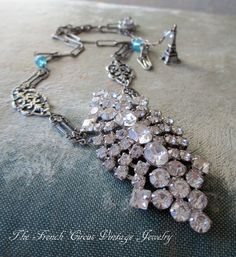 SPARKLE in the SNOW  simple treasures necklace by The French Circus, $90.00
