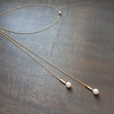 Ayla - Collier bijou de dos avec perles swarovski