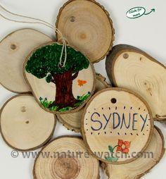 Tree Cookies (Tree Discs)