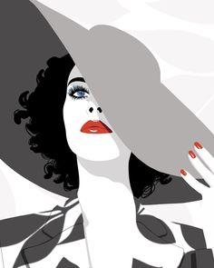 The work of Australian illustrator Bron Payne Dark Drawings, Art Drawings Sketches, Graphic Design Illustration, Graphic Art, Transférer Des Photos, Drawings Pinterest, Deco Studio, Art Studio Design, Guache