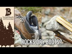 Wet Boots? Dry Them Quick! | 101 Ways to Survive