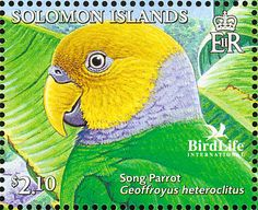 Song Parrot stamps - mainly images - gallery format