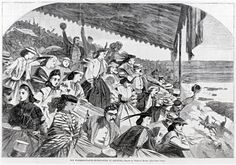 In the Swan's Shadow: Our Watering Places--Horse-Racing at Saratoga, 1865.