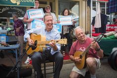 Martin O'Malley says addressing climate change with be at the center of his presidential campaign. Photo credit: Facebook.com/MartinOMalley
