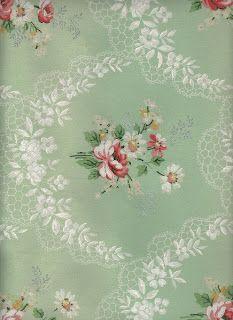 Vintage Floral Wallpaper.
