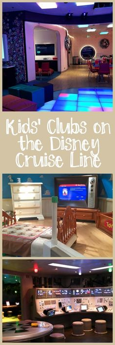 Kids' Clubs on the Disney Cruise Line, including the wristbands, activities, and types of facilities that you'll find in the youth clubs.