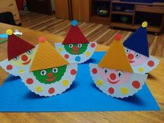 Risultati immagini per bricolages cirque Kids Crafts, Clown Crafts, Circus Crafts, Carnival Crafts, Toddler Crafts, Hobbies And Crafts, Diy And Crafts, Arts And Crafts, Birthday Clown