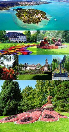 Mainau, Germany  The Isle of Flowers