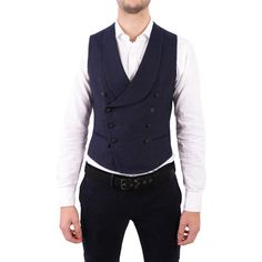 TAGLIATORE LINEN AND COTTON WAISTCOAT. #tagliatore #cloth #