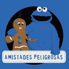amistad-amigo-come-galletas-gracioso.jpg (328×328) #spanish #learn #spanish
