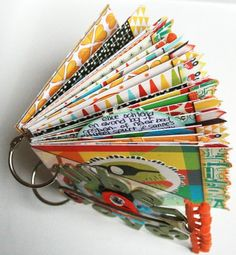 mini with sassafras papers.....love those papers!