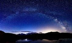 Milky way from Gran Paradiso NP by alpinfoto, via Flickr