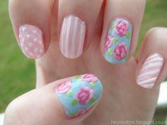 Cath Kidston Nail Art Design