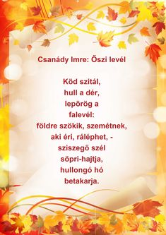 Advent, Poems, Autumn, Play, Fall Season, Poetry, Verses, Fall, Poem