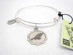 "Authentic Bella Ryann ""Letter M"" adjustable wire bangle russian silver Bella Ryann. $14.95. Fully adjustable bangle. Authentic Bella Ryann. Satisfaction Guaranteed"