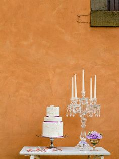 Candelabras : A Perfect Cake Table!   Glamour and Elegance - Belle the Magazine