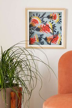Slide View: 2: Kenneth Lavallee Tiger Lilies Art Print