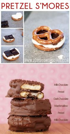 Pretzel S'mores- perfectly irresistible salty sweetness...my favorite things all together!