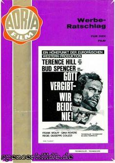 Promo - Gott vergibt - Wir beide nie! (Werberatschlag 1) - Bud Spencer / Terence Hill - Datenbank