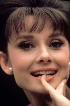 Audrey Hepburn -- a truly classy and fascinating individual.
