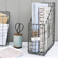 Wire File Holder - storage & organisers £20