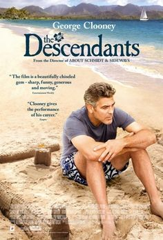 The Descendants is a 2011 American comedy-drama film directed by Alexander Payne. The screenplay by Payne, Nat Faxon and Jim Rash is based on the novel of the same name by Kaui Hart Hemmings. A land baron tries to re-connect with his two daughters after his wife is seriously injured in a boating accident. http://www.imdb.com/title/tt1033575/