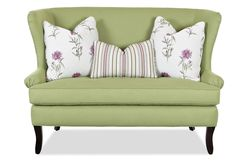 Chairs and Accents Seagrove Accent Settee by Klaussner