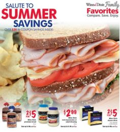 Winn Dixie Coupon Booklet/Flyer Salute to Summer Savings (exp 7/8) Click for details ► http://www.thecouponingcouple.com/winn-dixie-coupon-booklet-salute-to-summer-savings-exp-78/