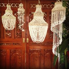 Exotic Tropic -  Seashell Chandeliers...loving these at Masutti & Masutti....and soon in our online store (20th Sept 2013)!!