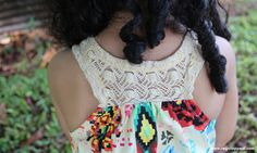 DIY - Toddler Dress - Amy Butler Fabric - Tribal Print  - Belize - Children's Clothing