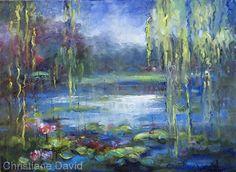 Christiane David oil