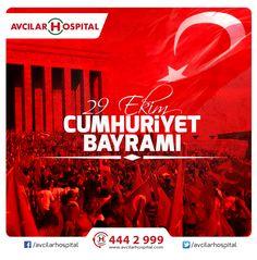 29 Ekim Cumhuriyet Bayramı kutlu olsun!  #CumhuriyetBayrami #29Ekim #Atatürk #Türkiye #Cumhuriyet #bayram #29ekimcumhuriyetbayrami #İstanbul #avcilar #avcilarhospital
