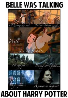 Disney and Harry Potter