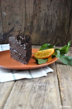 Νηστίσιμη τούρτα σοκολάτας με αβοκάντο & πορτοκάλι / Vegan chocolate-orange avocado cake Chocolate Avocado Cake, Vegan Chocolate, Panna Cotta, Ethnic Recipes, Food, Dulce De Leche, Essen, Meals, Yemek