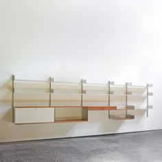 Located using retrostart.com > Vitsoe 606 Wall Unit by Dieter Rams for Vitsoe