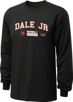 Dale Earnhardt Jr. #88 National Guard Restrictor Long Sleeve T-Shirt by Checkered Flag. $25.99