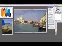 A Demo of Corel's Painter underpainting feature
