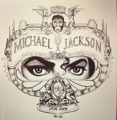 Art piece from Michael Jackson's album cover: Dangerous Michael Jackson Dibujo, Michael Jackson Tattoo, Michael Jackson Drawings, Michael Jackson Smile, Janet Jackson, Michael Jackson Painting, Michael Jackson Dangerous, Michael Jackson Album Covers, Michael Jackson History Album