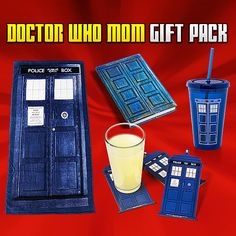 Doctor Who Mom Gift Pack for Mother's Day. EFF my mom. The Perfect Daughter, Doctor Who Gifts, Online Dating Apps, Geek Out, Dr Who, Tardis, So Little Time, Flirting, Gifts For Mom